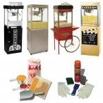 Popcorn Machines and Supplies