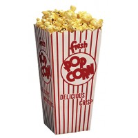 Popcorn Scoop Boxes - 1.25 oz.  - QTY 100