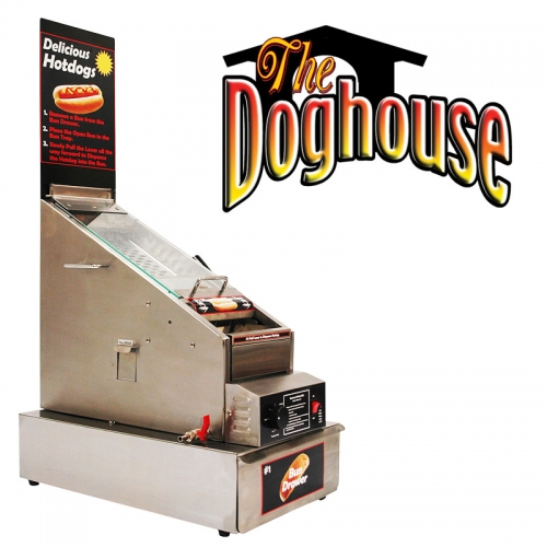 Doghouse Hotdog Cooker / Dispenser
