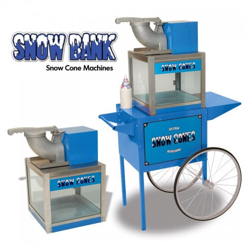 Snowbank Snow Cone Machines