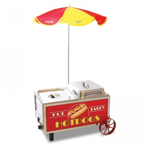 Hotdog Mini Cart Steamer